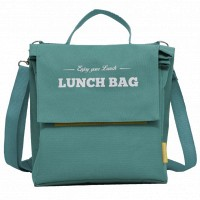 Термосумка бирюзовая PACK and GO Lunch Bag 9 л (LB109-turquoise)