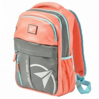 Рюкзак YES T-32 Citypack ULTRA коралловый/серый 558413